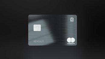 Revolut Metal card.
