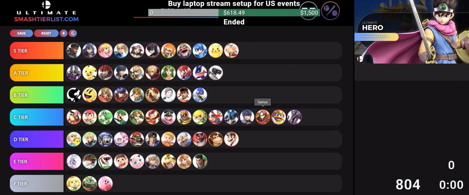 armada smash ultimate tier list 5.0