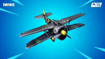 'Fortnite' plane location map