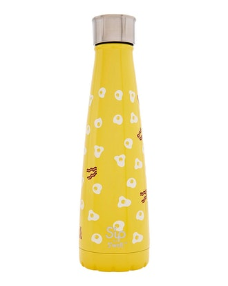 S'ip by S'well Vacuum Insulated Stainless Steel Water Bottle, Double Wall, 15 oz, Sunny Side