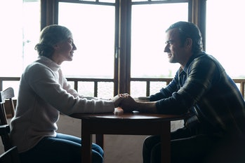 Carrie Coon and Justin Theroux in 'The Leftovers' Series finale