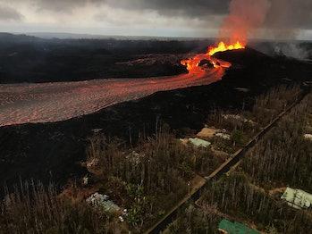 kilauea hawaii lava