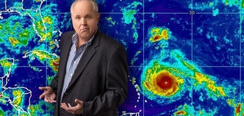 rush limbaugh hurricane conspiracy