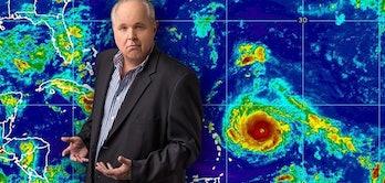 rush limbaugh hurricane conspiracy