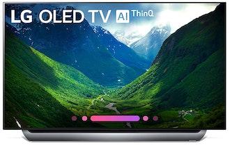 LG Electronics 55-Inch 4K Ultra HD Smart OLED TV