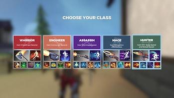 realm royale classes