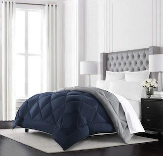 Beckham Hotel Collection Goose Down Alternative Reversible Comforter -