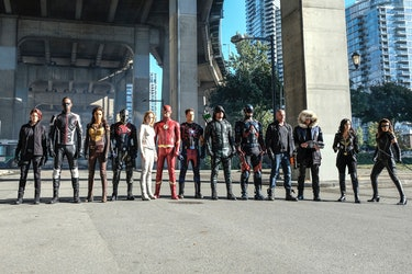 Crisis on Earth X Crossover Arrowverse