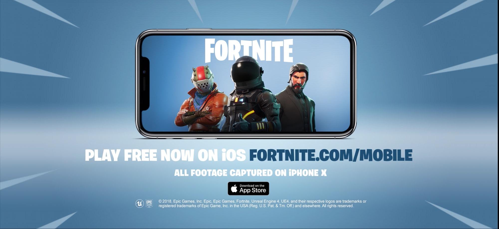 Fortnite iOS