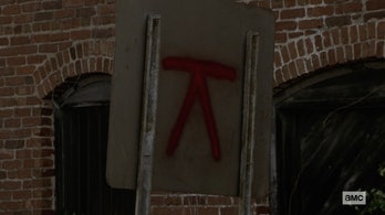 the walking dead symbol whisperers territory