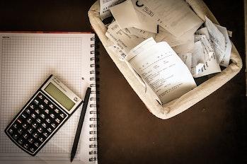 money receipts calculator