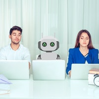 Humans don't love work robots, and that could create a productivity paradox