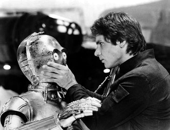 Han Solo shuts up C-3PO in 'The Empire Strikes Back'