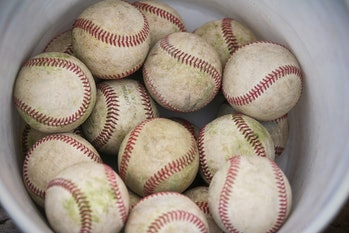 baseball home runs geology mud