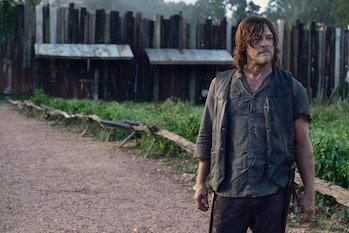 the walking dead season 9 episode 11 daryl dixon norman reedus alpha whisperers