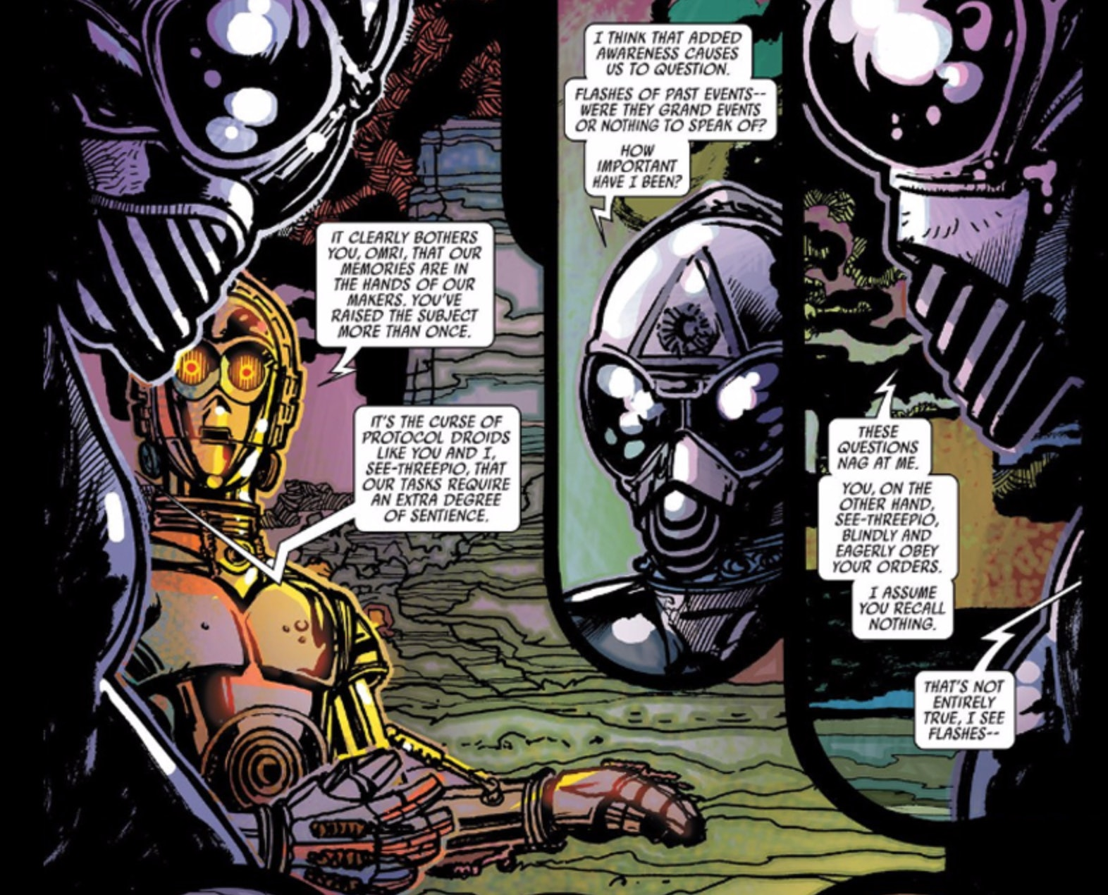 C-3PO gets heavy.
