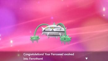 ferrothorn pokemon sword and shield nintendo