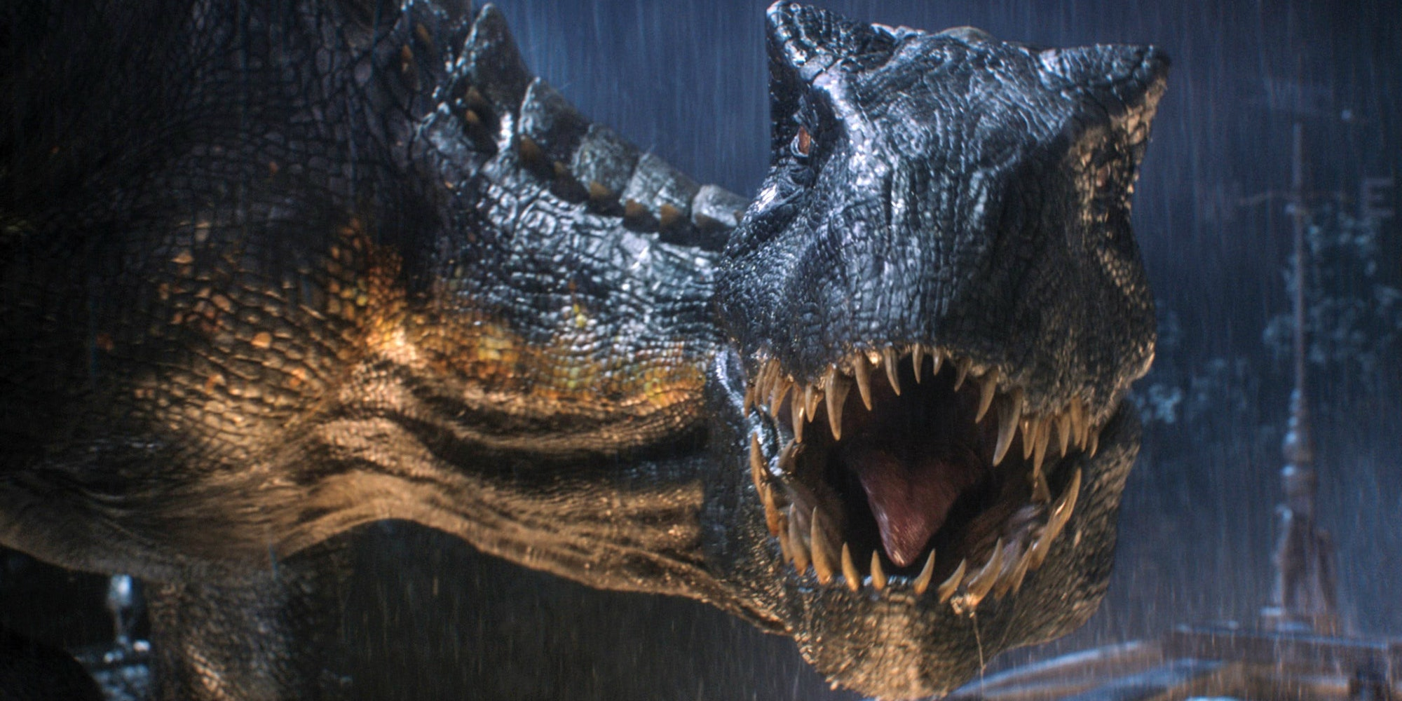 The new hybrid monstrosity that gets cooked up for 'Jurassic World: Fallen Kingdom'.