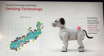 aibo robotic dog