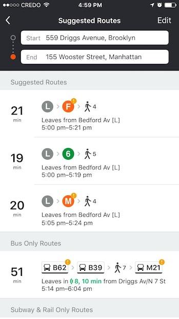 Moovit route screenshot