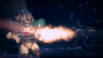 There will be no Rumble, but there will be big miniguns in the Crucible.