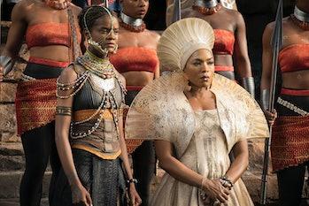 Princess Shuri and Queen Ramonda Black Panther