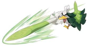 pokemon sword and shield galarian farfetch'd