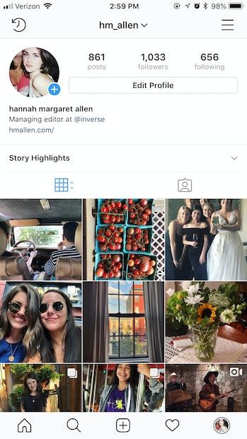 instagram verification process