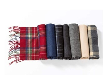 Fishers Finery Men's 100% Pure Cashmere Winter Scarf