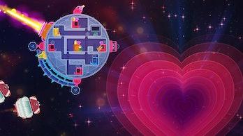 'Lovers in a Dangerous Spacetime'