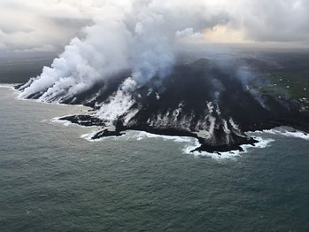 kilauea volcano water