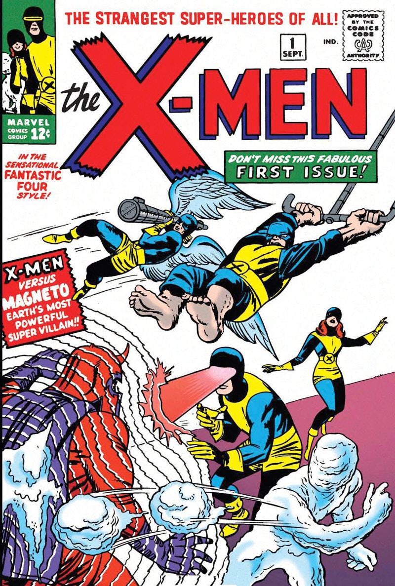 Jack Kirby Marvel X-Men