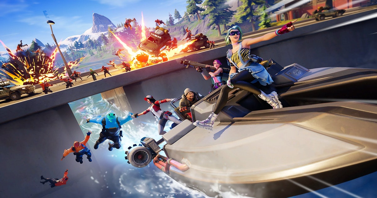 8 Days Of Fortnite Fortnite Chapter 2 Season 2 Release Date Themes Map Changes And More