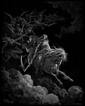 Gustave Dore - Death on the Pale Horse resized