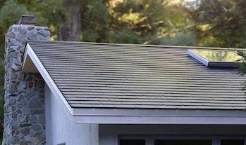 The Tesla Solar Roof.