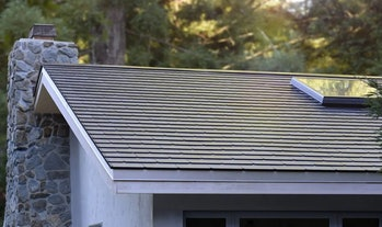 The Tesla Solar Roof.