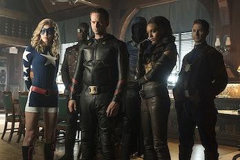 JSA Legends of Tomorrow DC