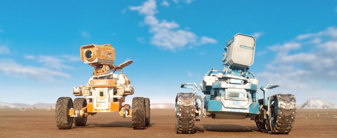 These robots are the only astronauts of the future in 'Planet Unknown'
