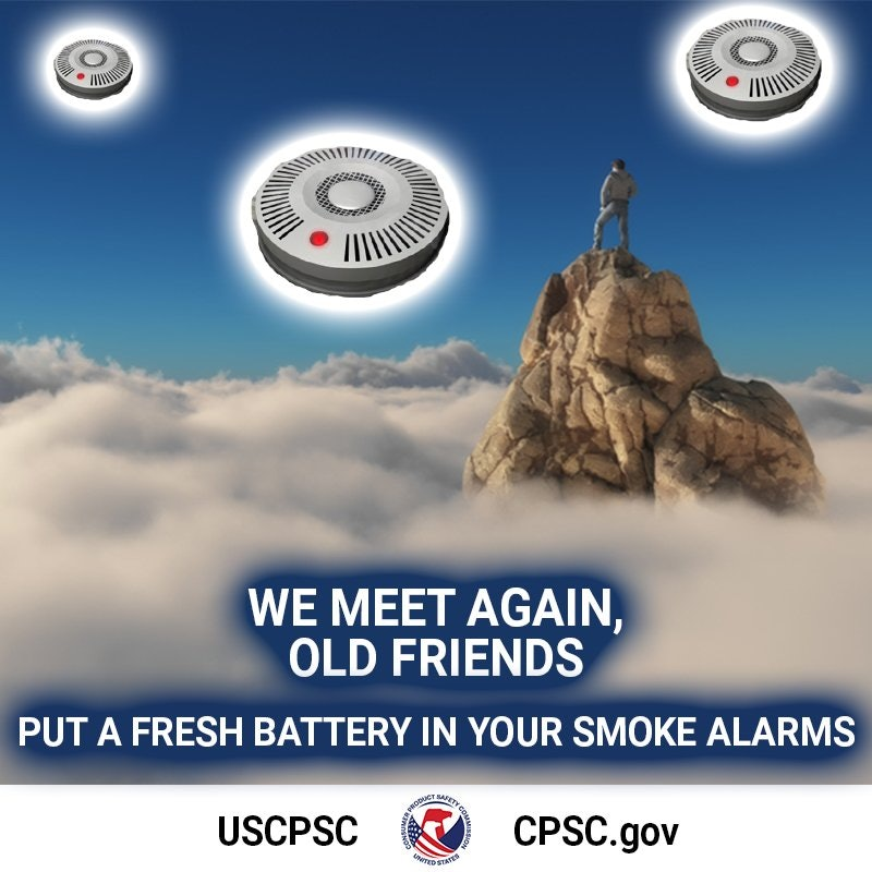 The CPSC is tweeting fire safety jokes.