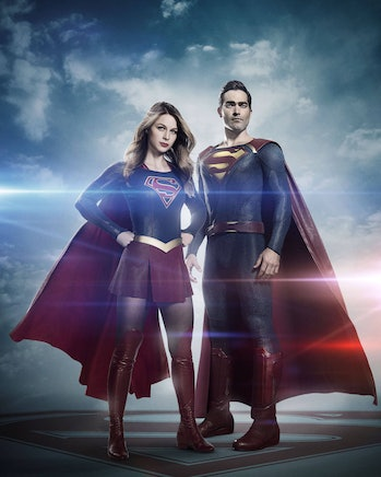 Superman Supergirl TV show