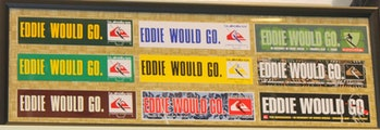 Various accounts online, like one atteamsurfgimp.blogspot, show how Eddie Would Go has become a philosophy among surfers.