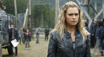 Eliza Taylor as Clarke Griffin in 'The 100' Season 4