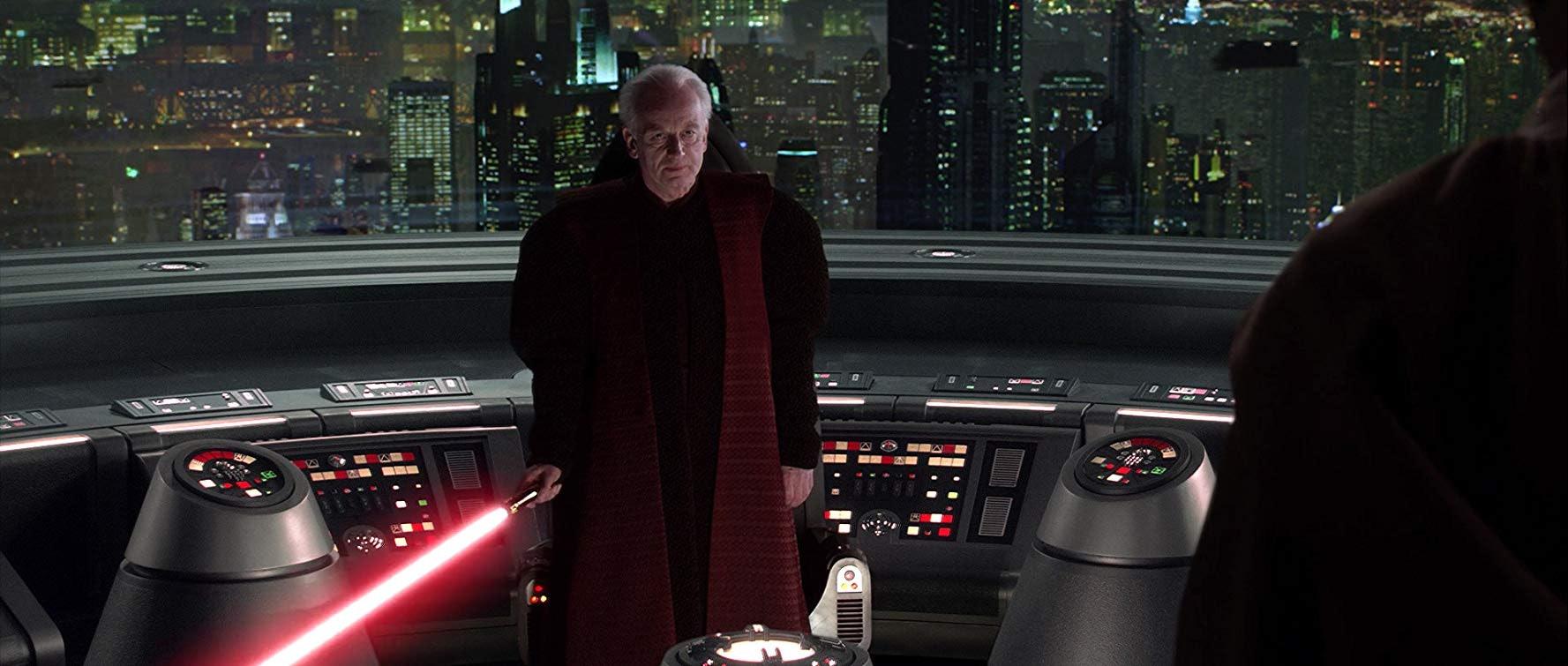 Ian McDiarmid as Senator Palpatine in 'Star Wars: Episode III - Revenge of the Sith'