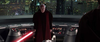 Ian McDiarmid as Senator Palpatine in 'Star Wars: Episode III - Revenge of the Sith'