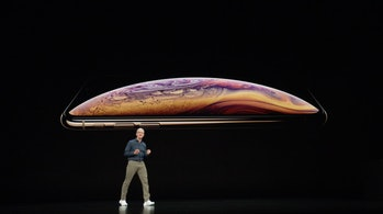 iPhone is big.