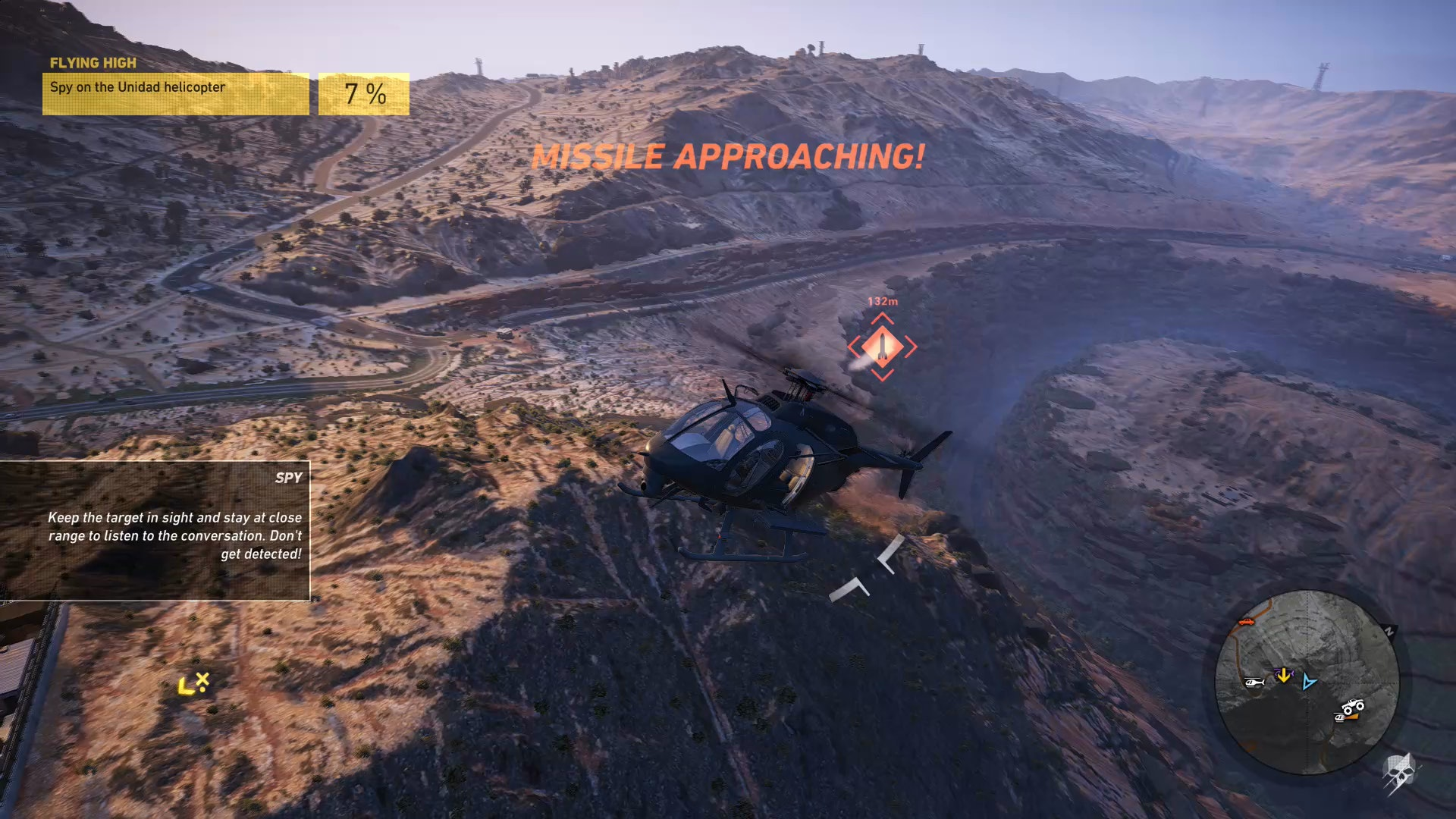 'Ghost Recon Wildlands' 'Nacro Road' DLC helicopter SAM missile