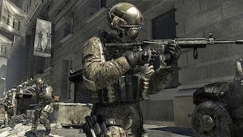 A soldier in 'Modern Warfare 3'.
