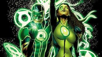 Green Lanterns Rebirth