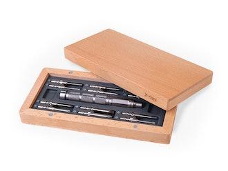 LUXJET Universal 24-in-1 Magnetic Screwdriver Set & Repair Kit