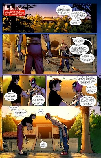 Shang-Chi Marvel Spider-Man